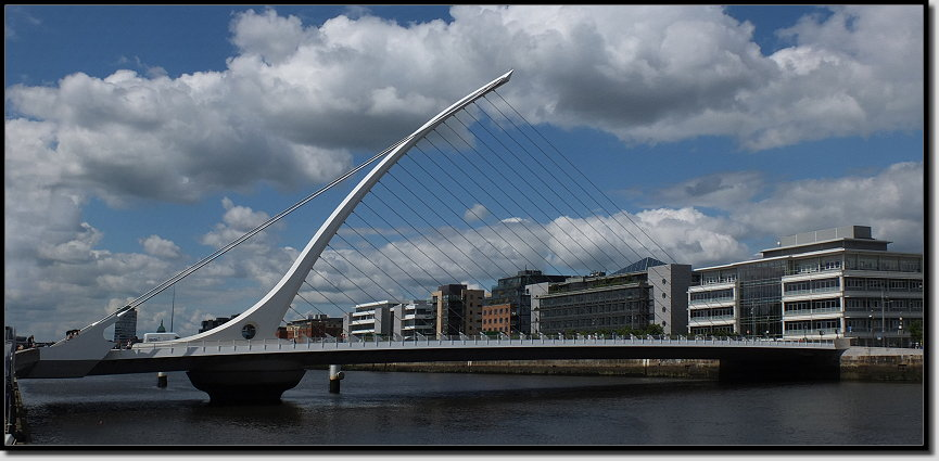 Die Samuel Beckett Bridge