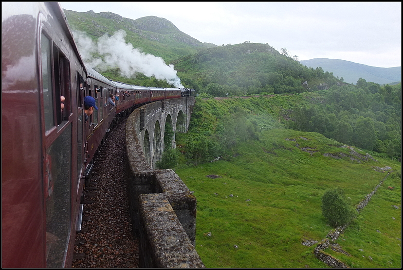 Jacobite Steam Train - der Harry-Potter-Zug